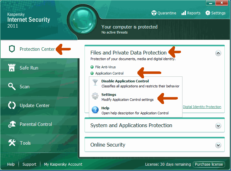Kaspersky Internet Security Good Guys